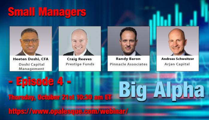 Small Managers - Big Alpha webinar